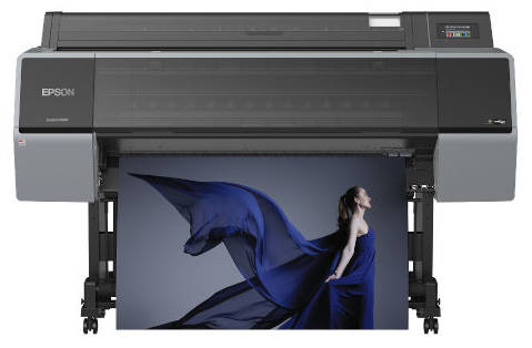 one of our wide format digital printers for giclee print production